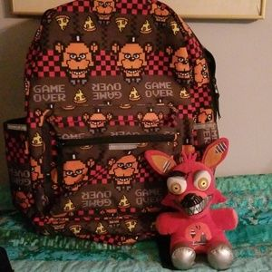 Five Nights at Freddy's Game Over Backpack + Foxy
